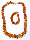 Amber bead Royalty Free Stock Image