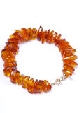 Amber bead Royalty Free Stock Photography
