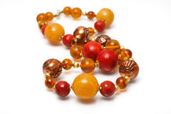 Free Amber Beads Royalty Free Stock Images - 13010519