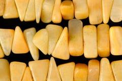 Amber Beads Close-Up Stock Image