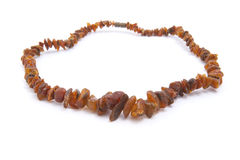 Amber beads. Royalty Free Stock Photography