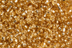Amber beads. Texture of beads close up royalty free stock photography