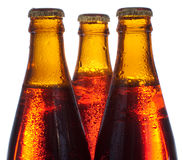 Amber beer Stock Photography