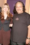 Amber Benson,Ron Jeremy Royalty Free Stock Photos