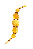 Amber bracelet Royalty Free Stock Photography