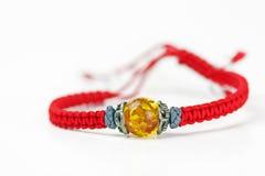 Amber bracelet Royalty Free Stock Images