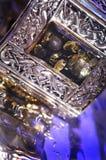 Amber bracelet Stock Photos