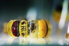 Amber bracelet Royalty Free Stock Image