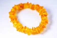 Amber bracelet Royalty Free Stock Photos