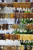 Amber Bracelets in Gdansk, Poland Stock Image