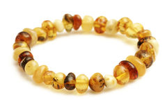 Amber Braclet Royalty Free Stock Photos