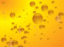 Amber bubble Royalty Free Stock Image