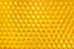 Amber Bubble Wrap Packing Or Air Cushion Film Abstract Backgroun Royalty Free Stock Photography