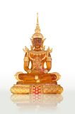 amber buddha image Royalty Free Stock Photography