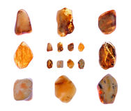 Amber collage Royalty Free Stock Images