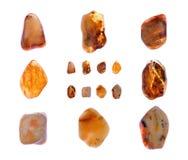 Amber collage Royalty-vrije Stock Afbeeldingen