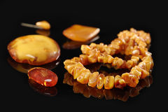 Amber Collection Royalty Free Stock Photos