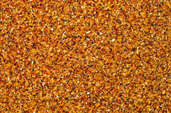 Amber colored background. An amber colored background pattern Royalty Free Stock Photos