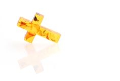Amber Cross Stock Photos