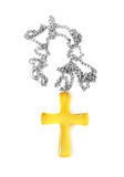 Amber Cross Royalty Free Stock Photography
