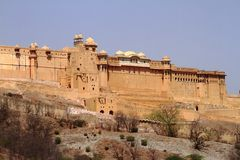 The Amber Fort Stock Images