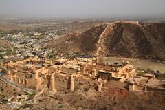 The Amber Fort Royalty Free Stock Photos