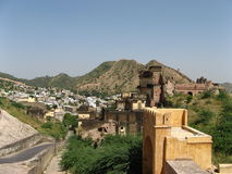 Amber Fort. In the outskirts of Jaipur, Rajasthan, India Stock Photo