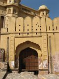 Amber Fort. In the outskirts of Jaipur, Rajasthan, India Royalty Free Stock Photography