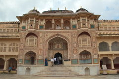 Amber Fort. Royalty Free Stock Photos