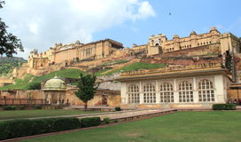 Amber Fort. Stock Images