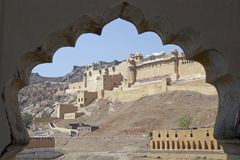 Amber Fort Stock Photos