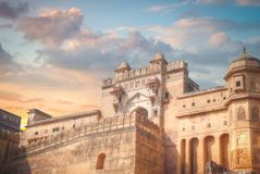 Amber Fort or Amer Royalty Free Stock Images