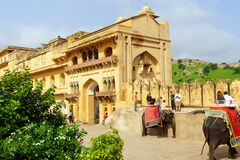 Amber Fort in Amer, India