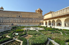 Amber Fort Courtyard Stock Photography