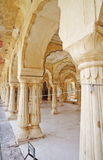 Amber Fort Courtyard. Second courtyard of Amber Fort,Jaipur,Rajasthan stock photo