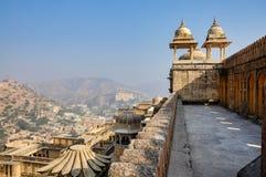 Amber Fort em Jaipur em Rajasthan, Índia imagem de stock royalty free