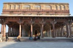 Amber Fort en Jaipur, la India Imagenes de archivo