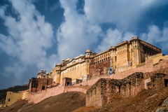 Amber fort Royalty Free Stock Images