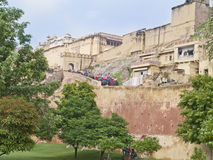 Amber fort, India. Royalty Free Stock Photo