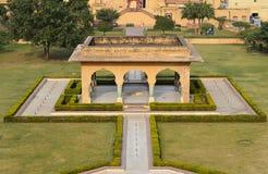 Amber Fort, Jaipur, Índia fotografia de stock
