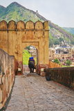 Amber Fort At Jaipur Stock Photos