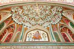 Amber fort in Jaipur Stock Foto's