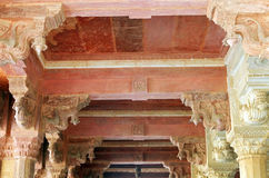 Amber fort in Jaipur Stock Afbeelding