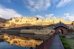 Amber Fort in Jaipur, famous landmark of India