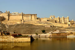 Amber Fort, Jaipur India, Royalty Free Stock Photo