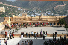 Amber fort, Jaipur, India Stock Photos