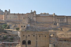 Amber Fort in Jaipur, India Stock Images