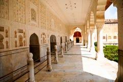 Amber Fort Jaipur, India Royalty-vrije Stock Afbeelding