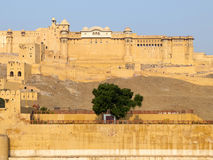Amber Fort of Jaipur, India Royalty Free Stock Images