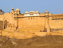 Amber Fort of Jaipur, India Royalty Free Stock Photography
